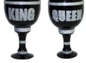 King & Queen pimp cups